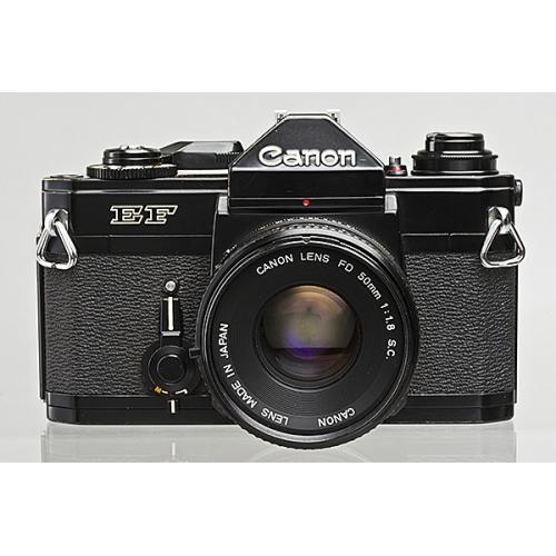 canon ef manual focus slr camera body with canon fd 50mm f 1 8 lens rh looscanons com canon ef 35mm slr camera manual canon ef 35mm camera manual