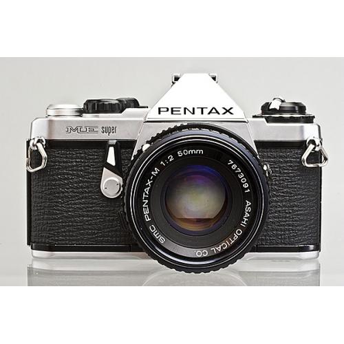 pentax me super manual focus slr camera body with pentax m 50mm f 2 rh looscanons com pentax me-f service manual Pentax Me Battery