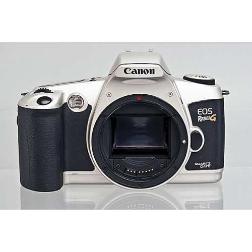 Canon EOS Rebel G Silver 35mm Camera Body - As Is